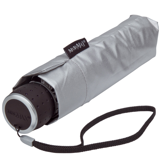 Silver UV Travel Umbrella, MiniMax