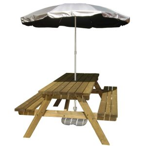 Silverback UV Protection Garden Parasol
