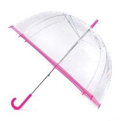 Clear Pink Umbrella / Slim Trim Umbrella - Pink