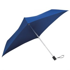 All Square Dark Blue Compact Umbrella