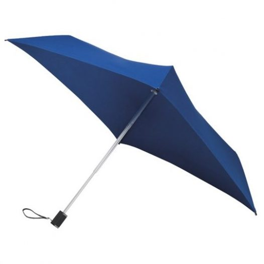 Compact Dark Blue Square Umbrella