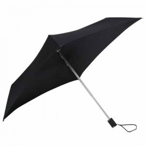 All Square Black Compact Umbrella