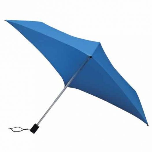 All Square Oblong Umbrella Bright Blue Compact