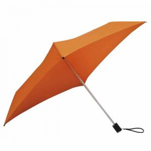 All Square Orange Compact Umbrella