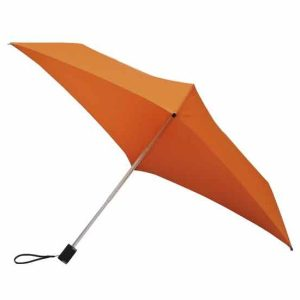 All Square Orange Umbrella, Compact