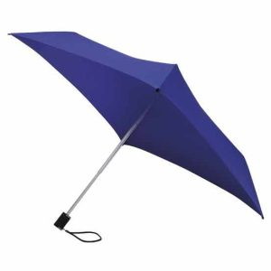 Square Parasol / All Square Purple Compact Umbrella