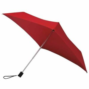 Red Square Umbrella Compact