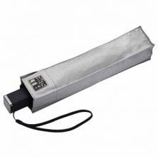 Compact Square UV Travel Umbrella - Silver