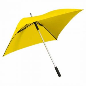 Square Golf Umbrella - Yellow