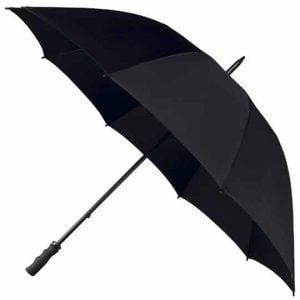 StormStar Windproof Black Golf Umbrella