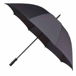 StormStar Windproof Charcoal Grey Golf Umbrella