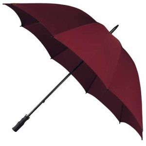 StormStar Windproof Maroon Golf Umbrella