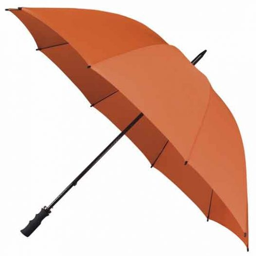 StormStar Windproof Orange Golf Umbrella