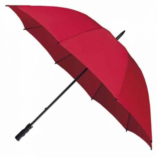 StormStar Golf Red Windproof Umbrella