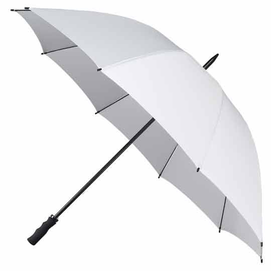 StormStar Golf White Windproof Umbrella