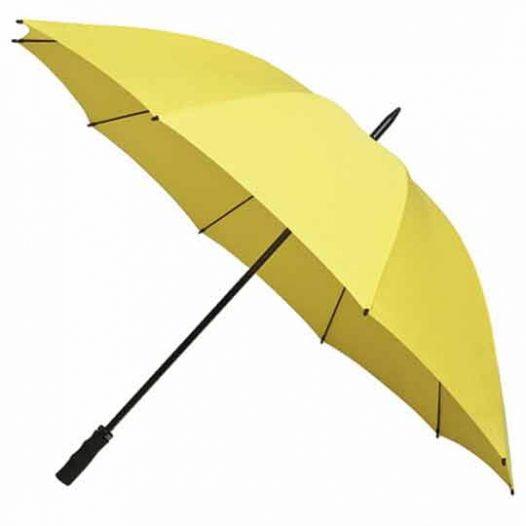 StormStar Windproof Yellow Golf Umbrella