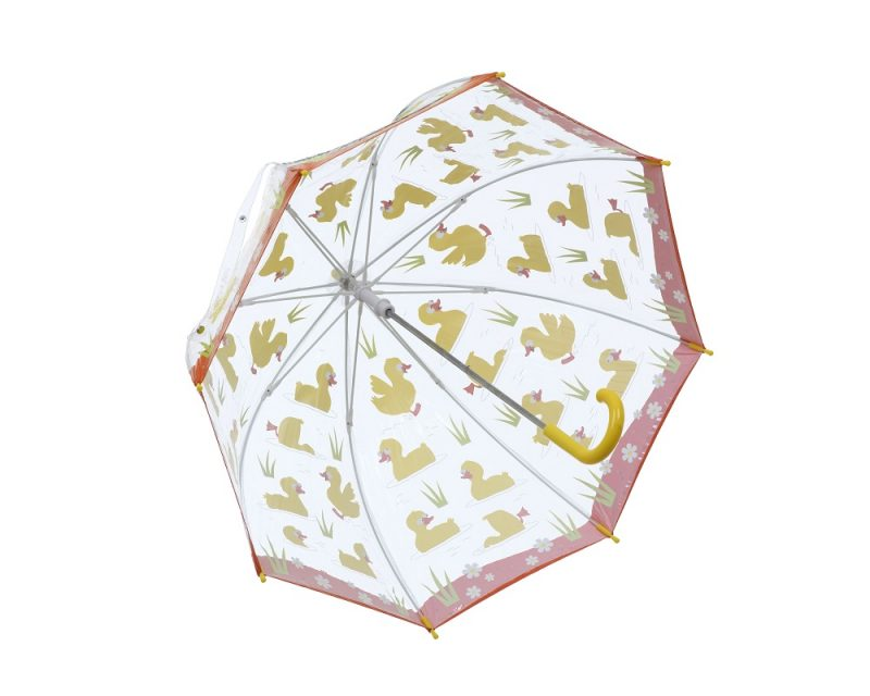 DUCKS PVC Kids Umbrella opened