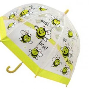 childrens pvc umbrella bee