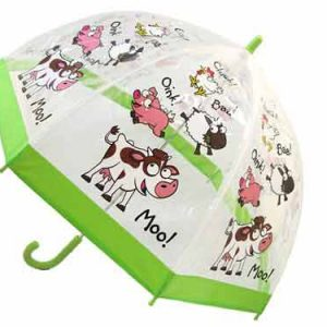 childrens pvc farmyard umbrellas