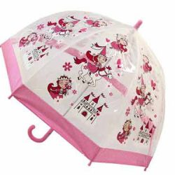 Girls Dome Umbrella PVC - Princess