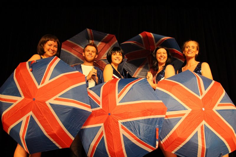 Union Jack Umbrellas EuroVision 2020