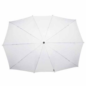 white duo umbrella top