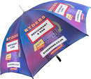 promotional umbrella print