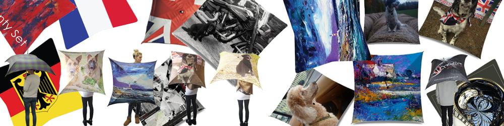 Design your own umbrella banner
