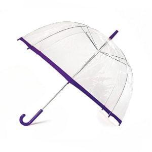 See-Through Clear Dome Umbrellas