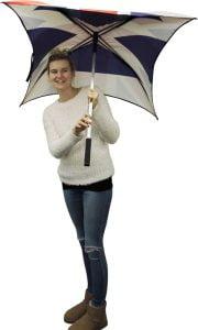 Design your own flag umbrella. Flag umbrellas from Umbrella Heaven