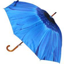 Blue Flower Umbrella