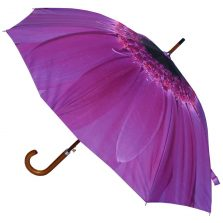 Purple Flower Umbrella