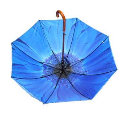 blue flower umbrella 2