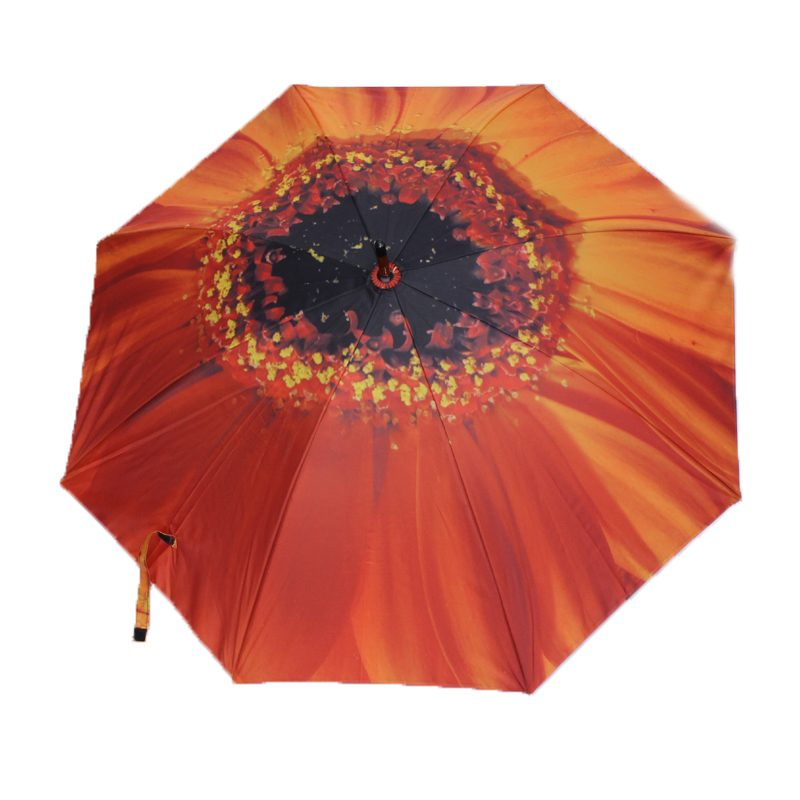 orange flower umbrella 1
