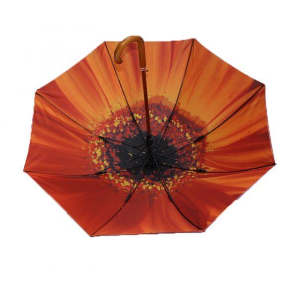 orange flower umbrella 2