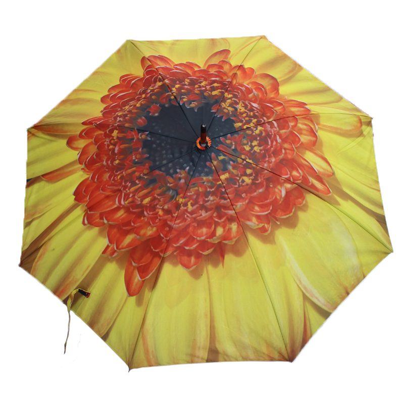 yellow flower umbrella 1