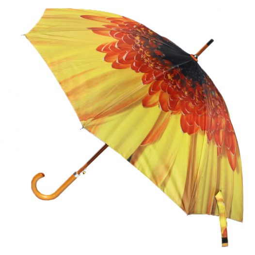 yellow flower umbrella 3 yellow flower umbrellas