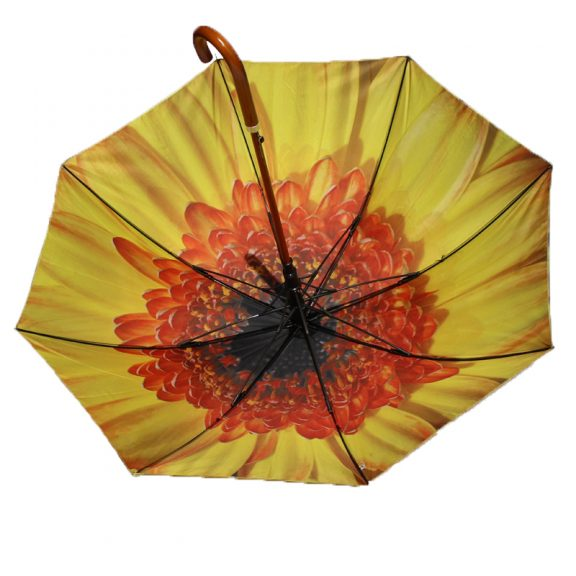 yellow flower umbrella 2