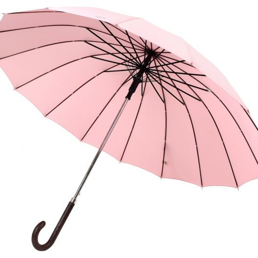 Womens Windproof Umbrella Terrassa Modeled