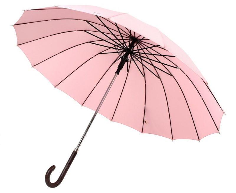 Womens Windproof Umbrella Terrassa Modeled