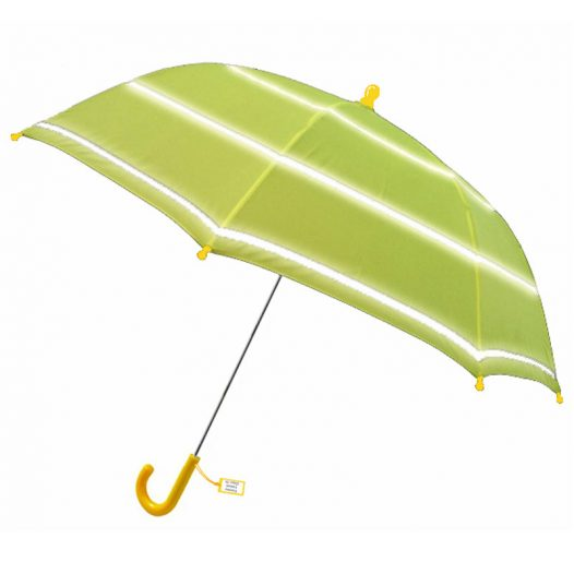 school umbrellas - hi vis umbrellas for school children