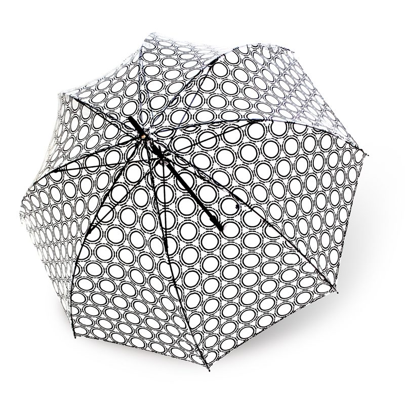Lucena Clear Dome Umbrellas - Design 3