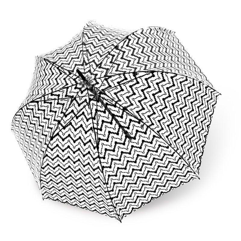 Lucena Clear Dome Umbrellas - Design 4