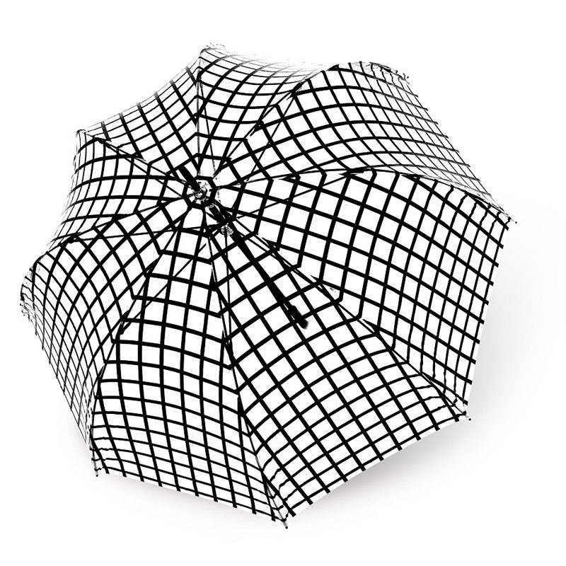 Lucena Clear Dome Umbrellas - Design 6