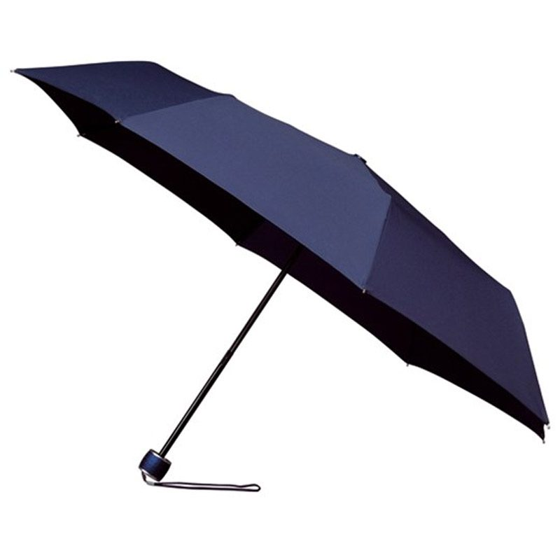cheap navy umbrella - low cost folding compact umbrella