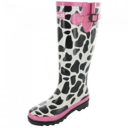 Cow Wellies / Cotswold Wellington Boots, Moo Cow