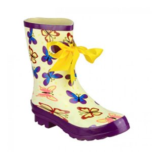 Ladies Half Wellington Boots Butterfly