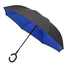 C Handle Umbrella Blue Open 2