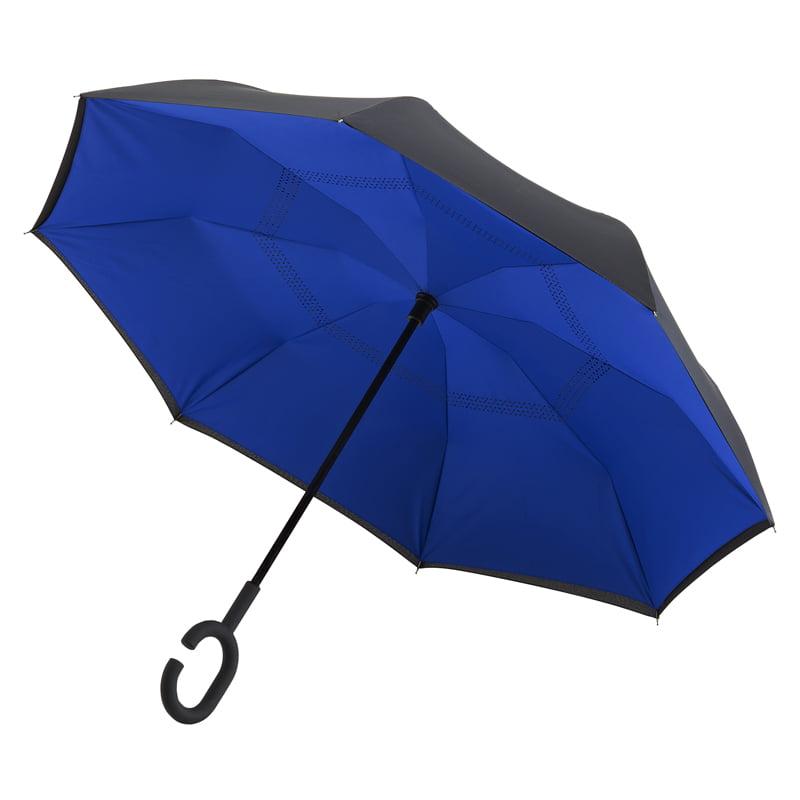 C Handle Umbrella / Blue Umbrella
