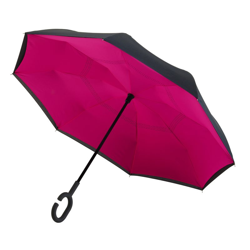 Inside Out Umbrella Pink
